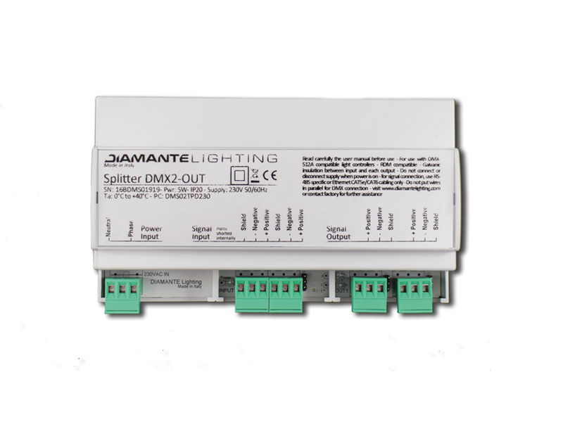 Diamante - Splitter DMX